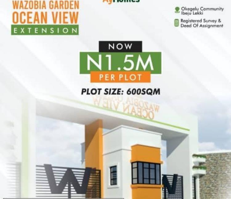 Own a Piece of Land, Wazobia Garden Ocean View Extention, Idi Atori, Ogogoro, Ibeju Lekki, Lagos, Residential Land for Sale