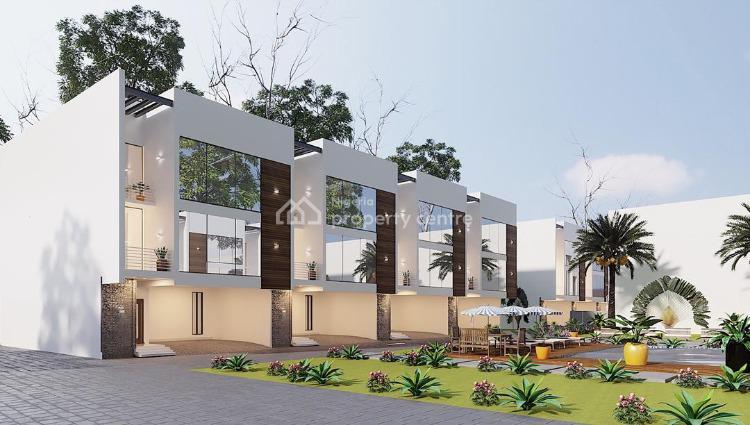 New 4 Bedroom Terrace in a Mini Estate, Chevron Drive, Lekki Phase 1, Lekki, Lagos, Terraced Duplex for Sale