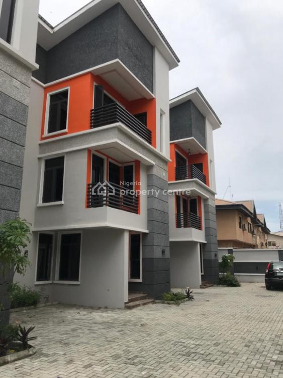 4 Bedroom Townhouse + Bq, Thomas Estate, Ajah, Lagos, House for Sale