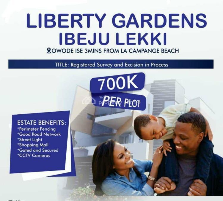 Registered Survey, Owode Ise Off Igbogun Road and Ise, Folu Ise, Ibeju Lekki, Lagos, Residential Land for Sale