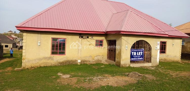 3 Bedroom Bungalow in an Estate, Opposite Federal Technical College, Orozo, Abuja, Detached Bungalow for Rent
