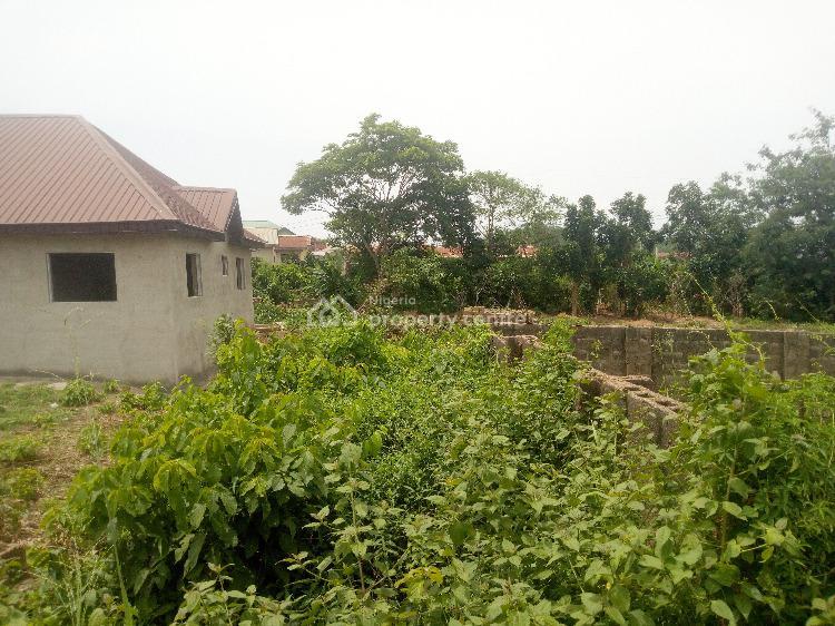 Strategic Fenced and Gated 2 Plots of Land with Bqs, Behind Bovas Filling Station Off Eleyele-ologuneru Road, Eleyele, Ibadan, Oyo, Residential Land for Sale