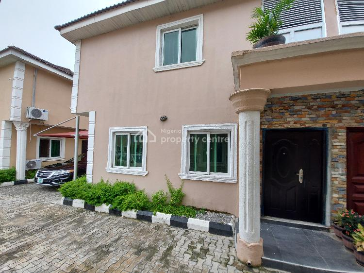 Well Located and Nicely Finished Four (4) Bedroom Semi-detached House, Heroes Court, Asajon Way, Sangotedo, Ajah, Lagos, Detached Duplex for Rent