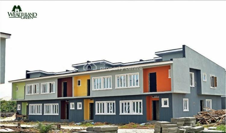 3 Bedrooms Ensuite Terraced Duplex with Bq, Oribanwa, Ibeju Lekki, Lagos, Terraced Duplex for Sale