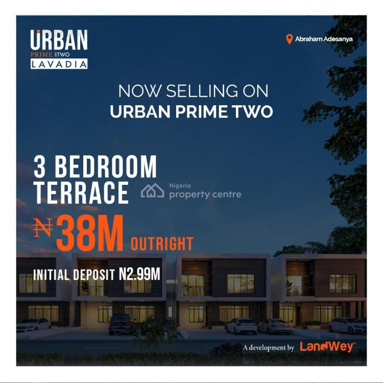 Luxury 3 Bedroom Terraced Duplex with Perfect Title Governors Consent, Abraham Adesanya, Ogombo, Ajah, Lagos, Terraced Duplex for Sale
