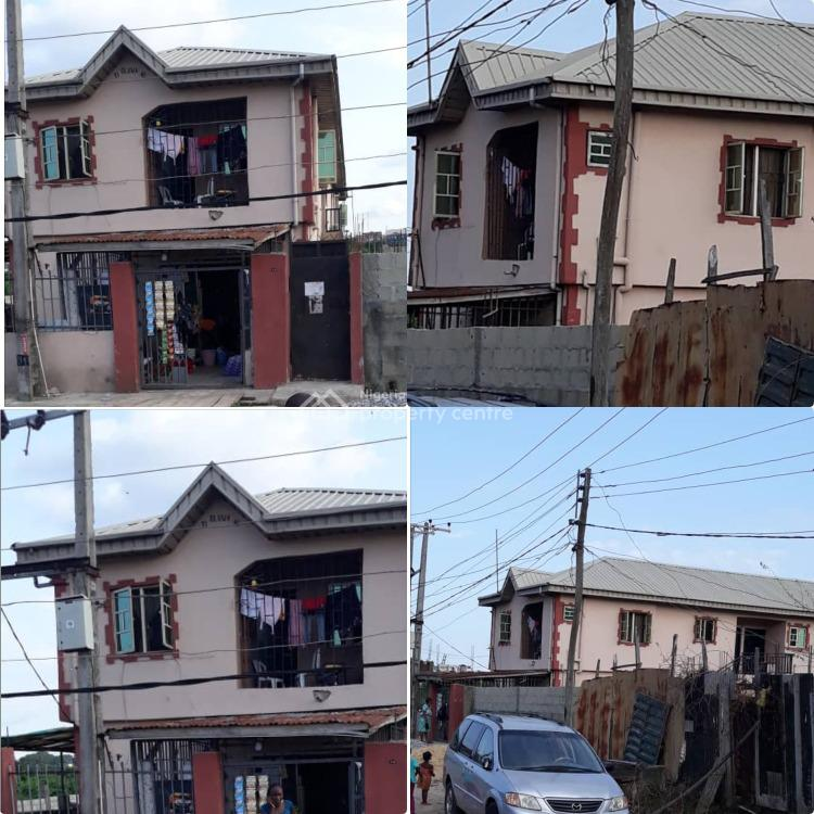 a Solid Storey Building on Half Plot of Land, Off Ezobi Street., Alapere, Ketu, Lagos, Block of Flats for Sale