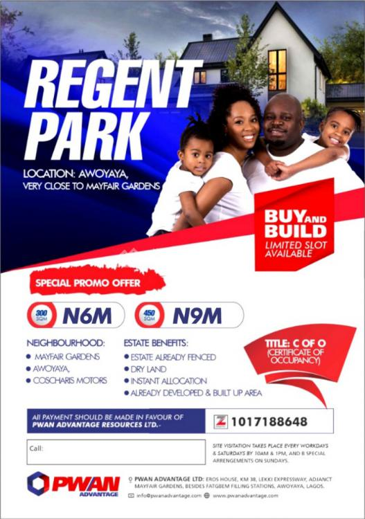 Land, Awoyaya Very Close to Mayfair Garden, Awoyaya, Ibeju Lekki, Lagos, Mixed-use Land for Sale