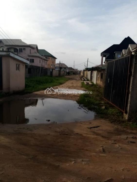 Half Plot of Land, Along Shola Agboola Street, Off Folarin Street Satellite Town, Ojo, Lagos, Mixed-use Land for Sale