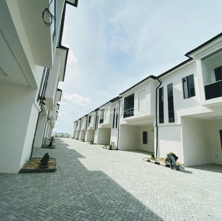 Luxury Built 4 Bedroom Terrace, Chevron, Lekki, Lagos, Terraced Duplex for Sale