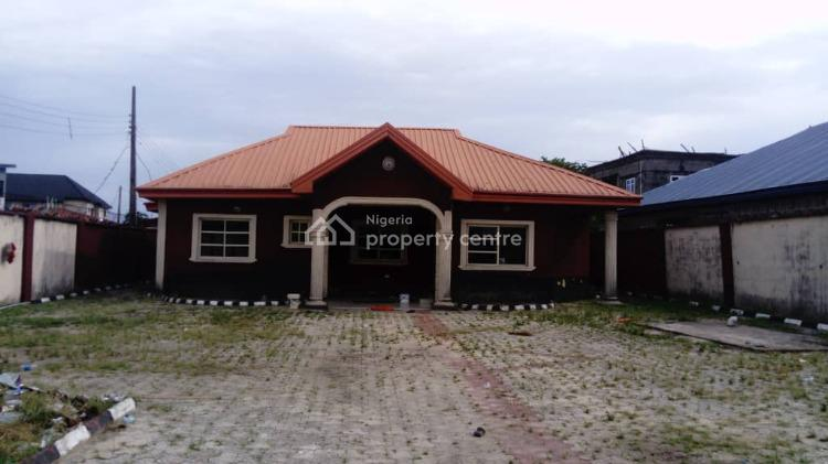 4 Bedroom Bungalow with Bq on Standard Full Plot of Land, Goodness Estate, Badore, Ajah, Lagos, Detached Bungalow for Sale