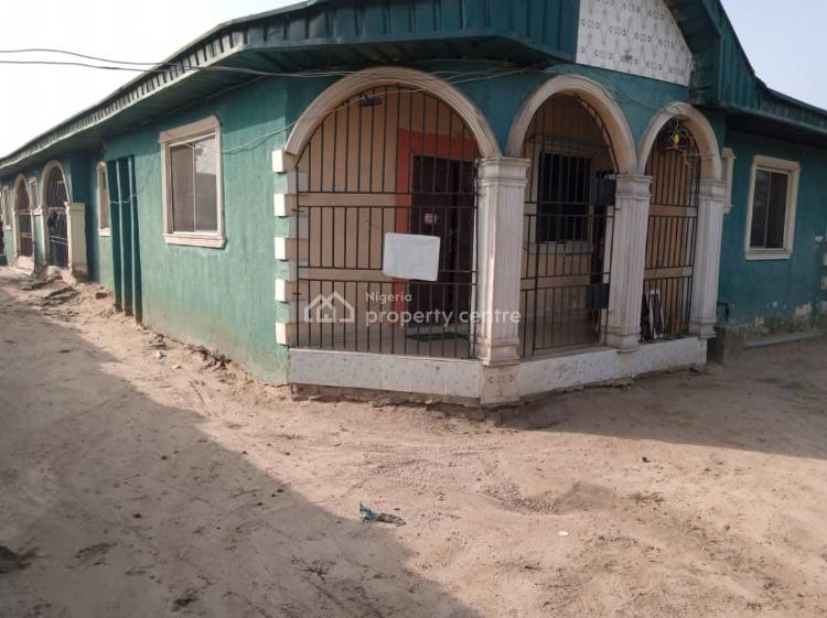 Detached Bungalow with 3 Flats, Agbaro, Warri, Delta, Semi-detached Bungalow for Sale