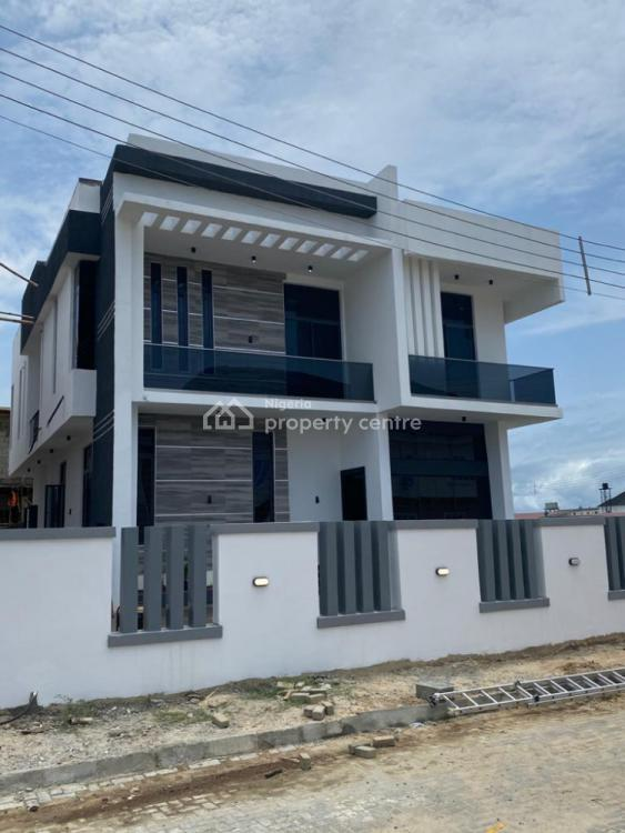 5 Bedroom Duplex with Global Certificate of Occupancy, Orchid Road, Lafiaji, Lekki, Lagos, Semi-detached Duplex for Sale
