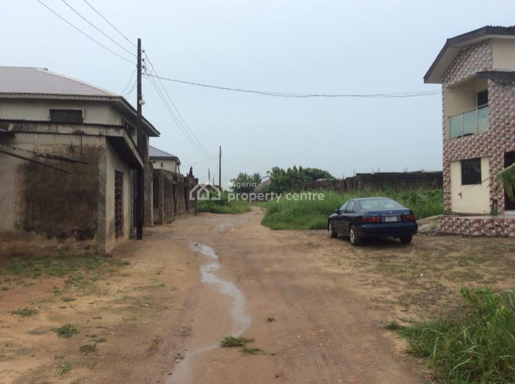 Uncompleted 2nos of 3 Bedroom Flat Each at Decking Level, Nepa Bus Stop Offin, Igbogbo, Ikorodu, Lagos, Block of Flats for Sale