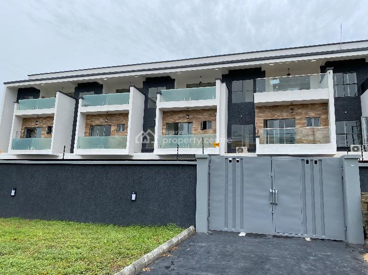 Executive Luxury 4 Bedroom Terraced Duplex with Self-fenced Compound, Osborne, Ikoyi, Lagos, Terraced Duplex for Sale