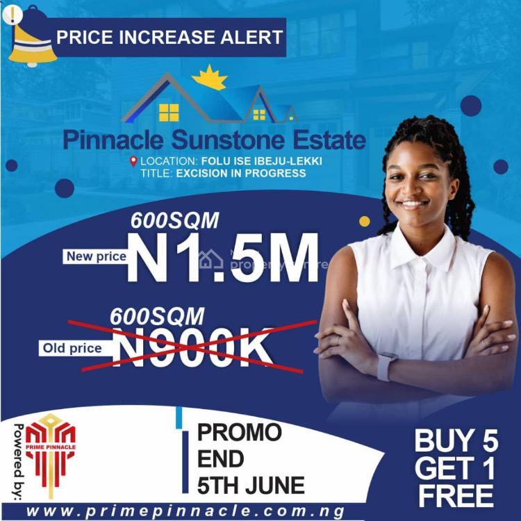 Land, Pinnacle Sunstone Estate, Folu Ise, Ibeju Lekki, Lagos, Mixed-use Land for Sale