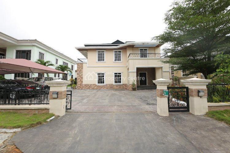 Fully Furnished and Fitted 5 Bedroom Detached House, Carlton Gate Estate, Off Chevron Drive, Lekki Expressway, Lekki, Lagos, Detached Duplex for Sale