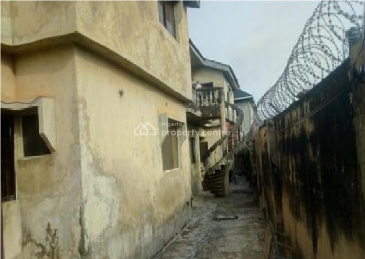 Standard Built of 4 Flat of 3 Bedroom, Elebu Area Off Akala Express, Oluyole, Oyo, Block of Flats for Sale