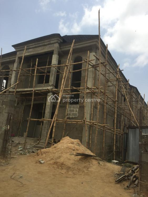 5 Bedroom Detached Duplex with a Bq (to Be Completed), Short Drive From Isheri, Gra, Magodo, Lagos, Detached Duplex for Sale