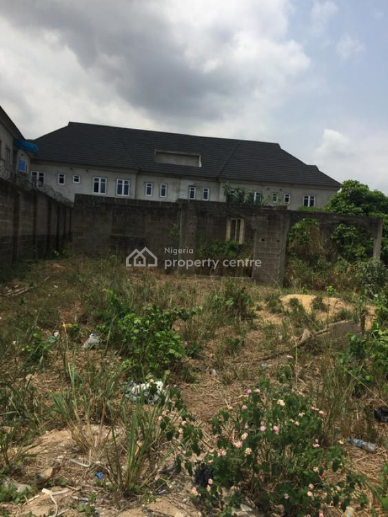an Uncompleted Building on a Full Plot of Land, Berger, Arepo, Ogun, Residential Land for Sale