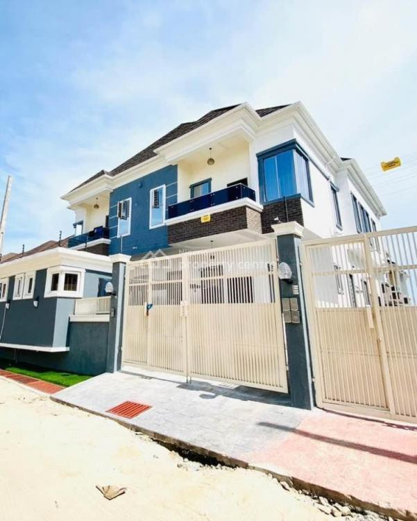 Well Finished 4 Bedroom Semi Detached Duplex with a Room Bq, Lekki County Homes, Ikota, Lekki, Lagos, Semi-detached Duplex for Sale