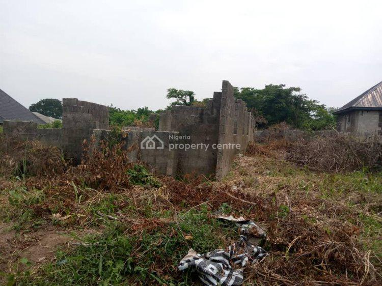 a Full Plot of Land with an Uncompleted Building, 1, Ayegbami Street, Ijede, Lagos, Land for Sale