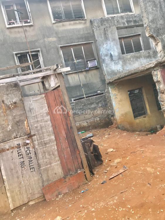 Property on a Half Plot of Land, Awoyokun, Palmgrove, Ilupeju, Lagos, Mixed-use Land for Sale