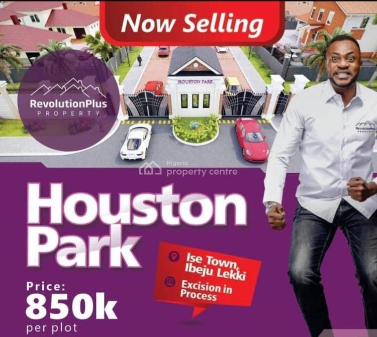 Verified and Secured Land, Ise Town, Folu Ise, Ibeju Lekki, Lagos, Residential Land for Sale