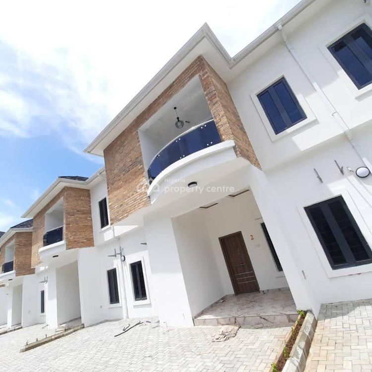 4 Bedroom Fully Serviced Luxury Terrace, Orchid Road, 2nd Toll Gate, Lekki, Lagos, Terraced Duplex for Sale