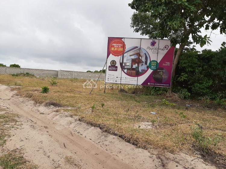 Dry Land with Gazette in a Strategic Location, Along The Free Trade Zone, Ibeju Lekki, Lagos, Mixed-use Land for Sale