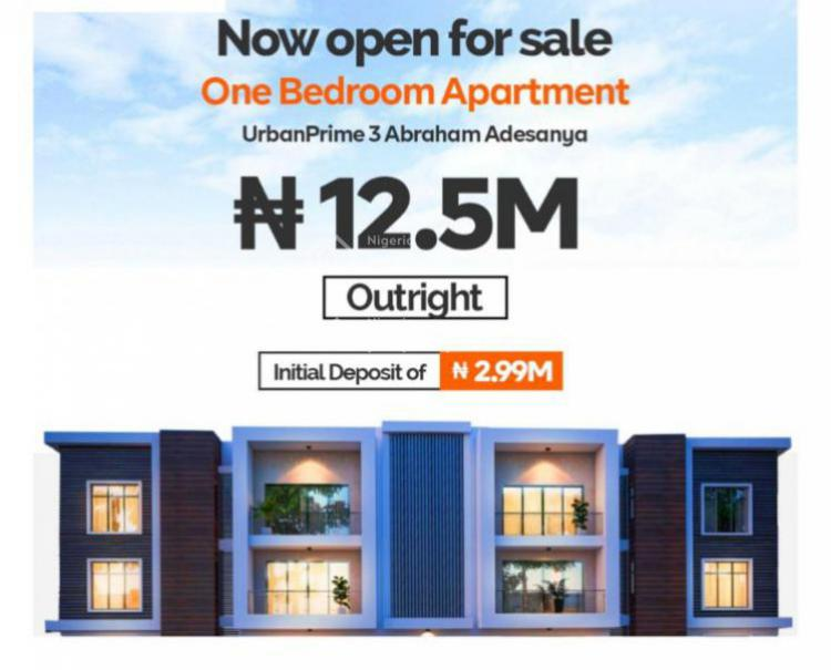Luxury 1 Bedroom Flat with Class, Abraham Adesanya Estate, Lekki-epe Expressway, Ogombo, Ajah, Lagos, Self Contained (single Rooms) for Sale