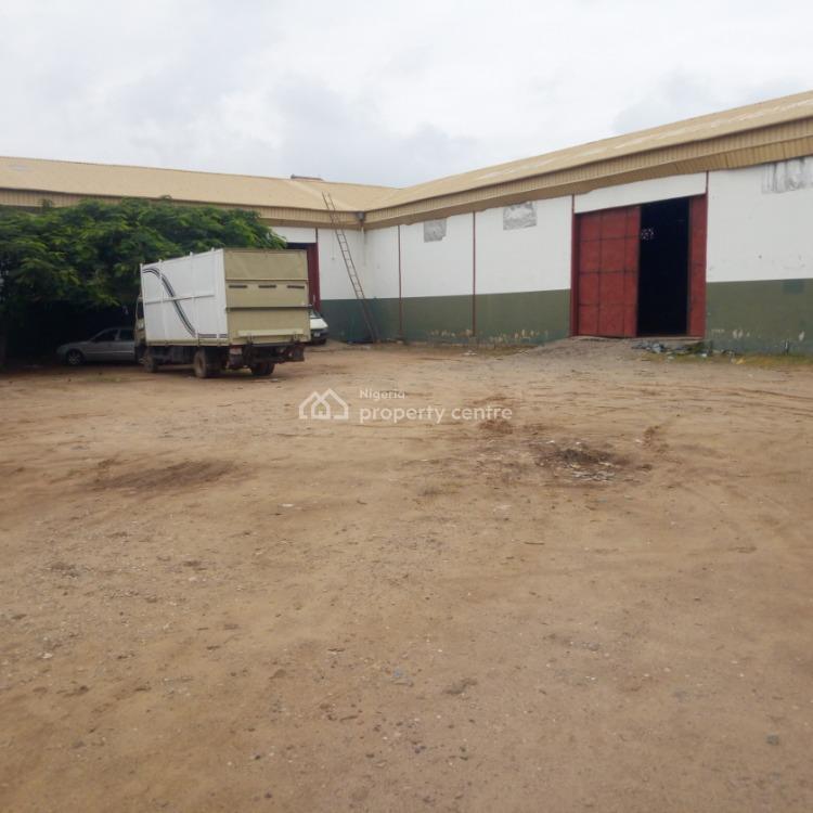 487 Sqm Affordable Warehouse, Behind Cbn Quarters, Karu, Abuja, Warehouse for Rent