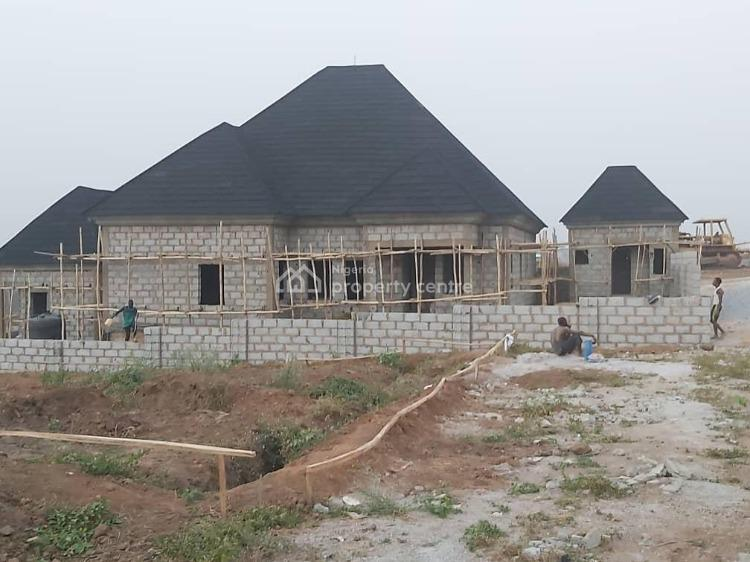 Partly Completed 4 Bedroom Detached Bungalow + 2 Room Bq + Gate House, Verizon Estate, Gwarinpa, Abuja, Detached Bungalow for Sale