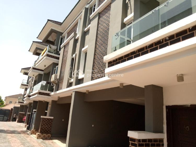 a Clean and Amazing 4 Bedroom Terrace Situated in a Gated Estate, Osapa, Lekki, Lagos, Semi-detached Duplex for Rent