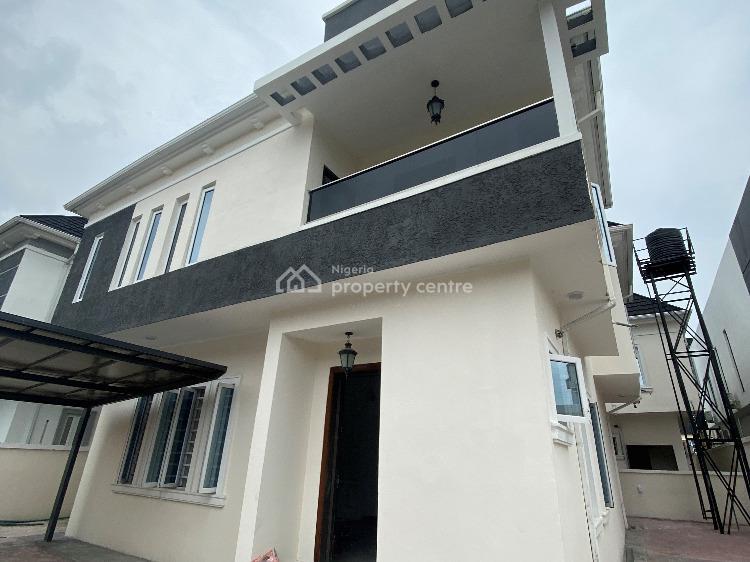 Newly Built 4 Bedroom Detached Duplex with B.q, Chevron, Lekki, Lagos, Detached Duplex for Sale
