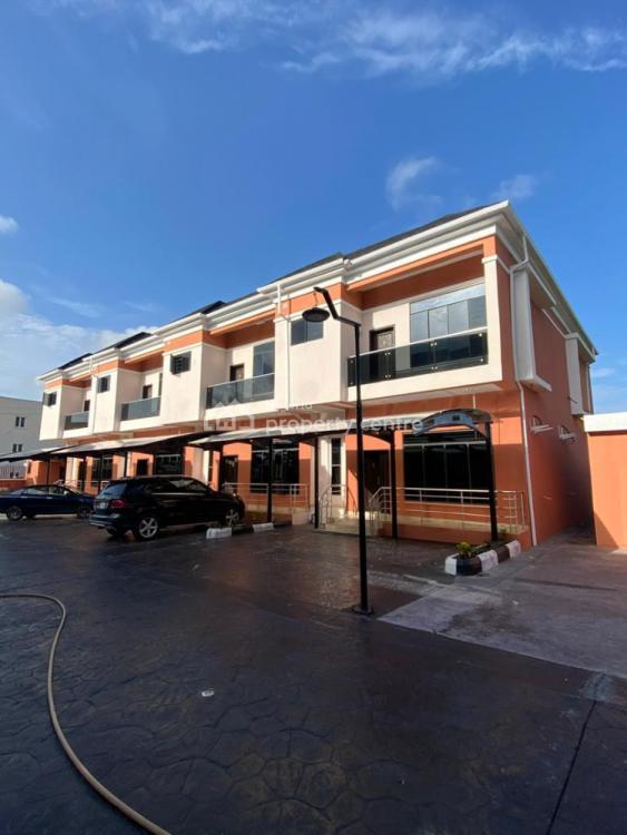Newly Built 4 Bedroom Terrace Duplex with Bq, Ikate Elegushi, Lekki, Lagos, Terraced Duplex for Sale