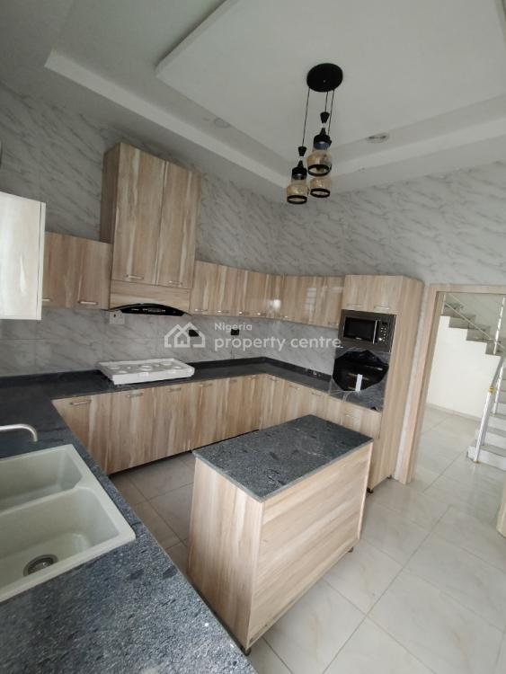 Beautifully Built 4 Bedroom Semi-detached Duplex with 1 Room Bq, Orchid Estate, Lafiaji, Lekki, Lagos, Semi-detached Duplex for Sale