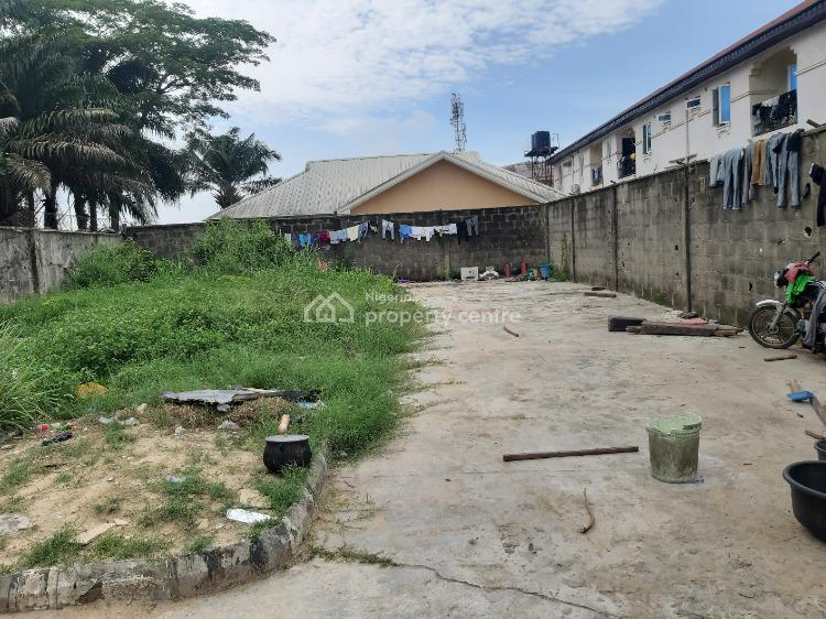 Fully Fenced and Gated Half Plot of a  Dry Land in a Built Up Area, Estate, Sangotedo, Ajah, Lagos, Residential Land for Sale