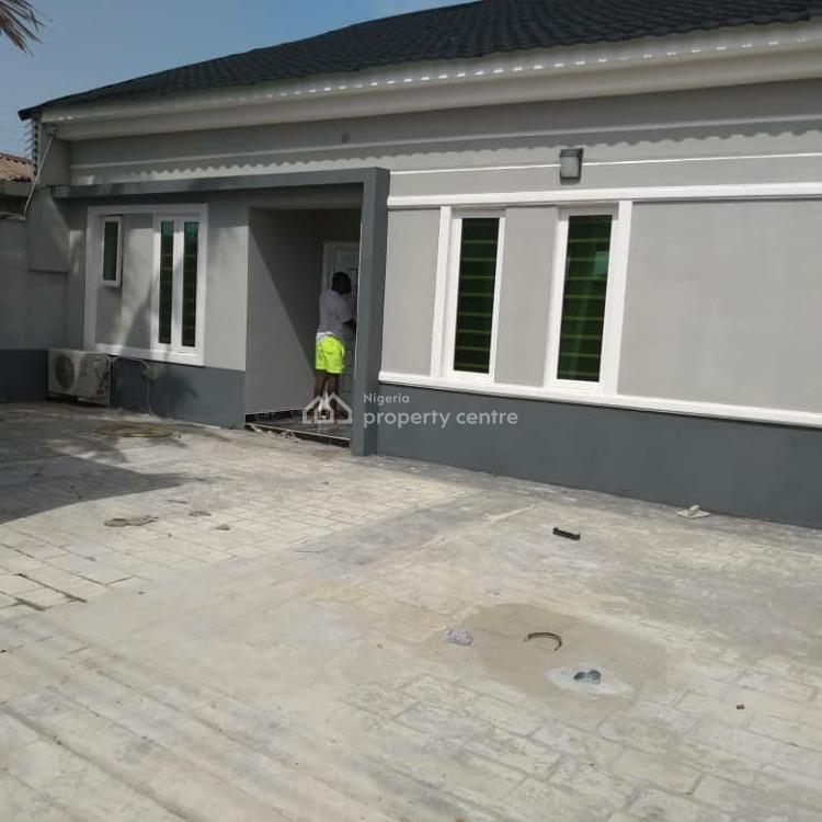 New and Furnished 3 Bedroom Bungalow, Abraham Adesanya Estate, Ajah, Lagos, Detached Bungalow for Sale