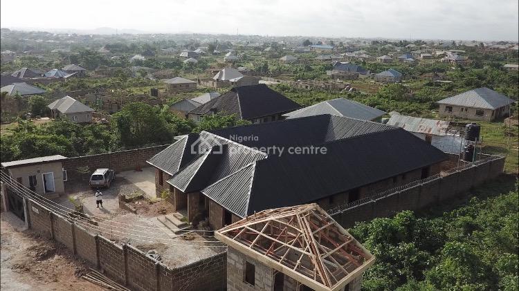 6 Bedroom Courtyard Bungalow with 2 Bed Guest Quarters Plus 2 Car Gara, Alaaka, Elebu, Challenge, Ibadan, Oyo, Detached Bungalow for Sale