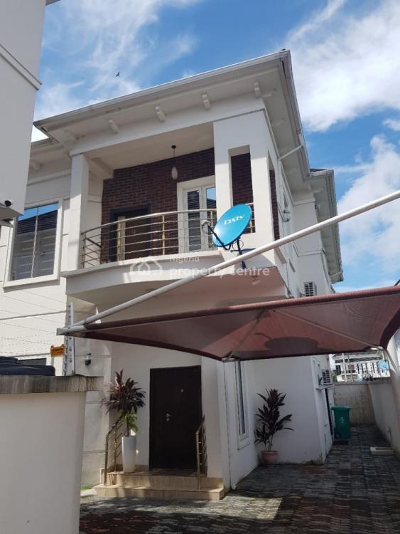 Tasteful 4 Bedroom Semi Detached Duplex with Bq, Chevron Drive, Lekki, Lagos, Semi-detached Duplex for Rent