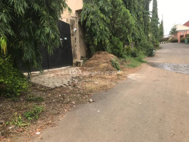 1200sqm Land with a Fully Detached Bungalow and Bq, Maitama Sule Street, Asokoro District, Abuja, Detached Bungalow for Sale