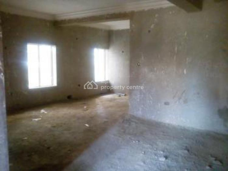 a Brand New 4 Bedrooms Semi-detached Carcass Duplex with 1 Room Bq, Life Camp District, Life Camp, Abuja, Semi-detached Duplex for Sale