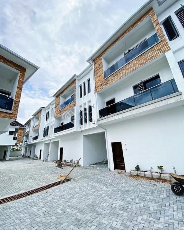 Fully Serviced 4 Bedrooms Terraced Duplex, Chevron Toll, Ikota, Lekki, Lagos, Terraced Duplex for Sale
