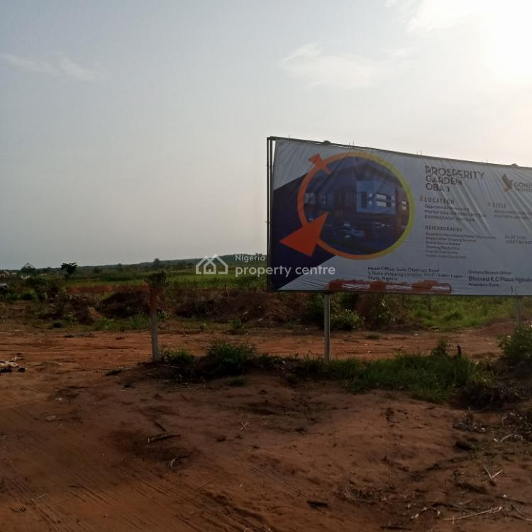 Buy 2 & Get 1 Free Plot Govt. Approved Land in a Serene Location, Prosperity Garden Estate, Oba, Idemili, Anambra, Residential Land for Sale
