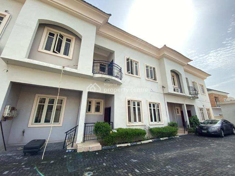 Well Finished 4-bedroom Terrace House with Bq, Osapa, Lekki, Lagos, Terraced Duplex for Rent