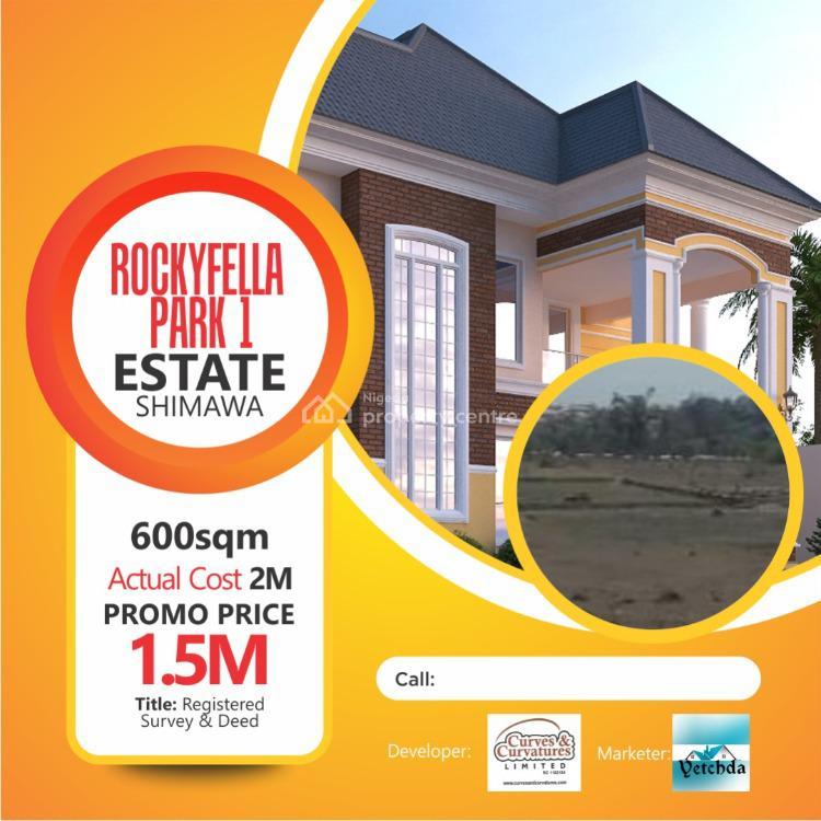 Rockyfella Estate, Simawa, Ogun, Residential Land for Sale
