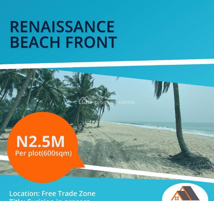 Estate Land Facing The Beach, After Dangote Refinery, Eleko, Ibeju Lekki, Lagos, Residential Land for Sale