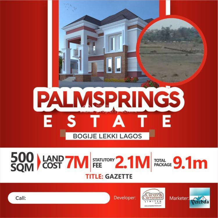 Palmspring Estate, Ajah, Lagos, Residential Land for Sale