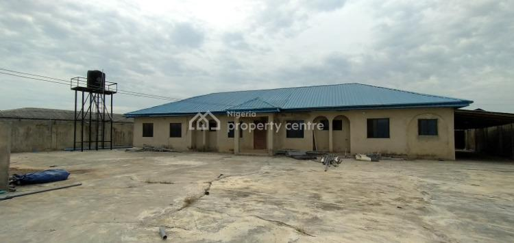 12 Rooms Bungalow Suitable for Hotel, Staff Quarters Or a Guest House, Olu-odo, Ebute, Ikorodu, Lagos, Detached Bungalow for Rent