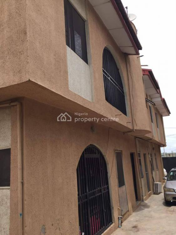 Executive Block of 4flat with 2shops with C of O, Abule Egba, Oko-oba, Agege, Lagos, Block of Flats for Sale